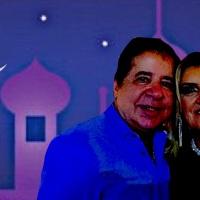 "Nabi e Eliana Mellem, em noite Árabe — ""اليومفي ليلة عربية إنشاء الله يلا يلا"", by Vanessa Malucelli"