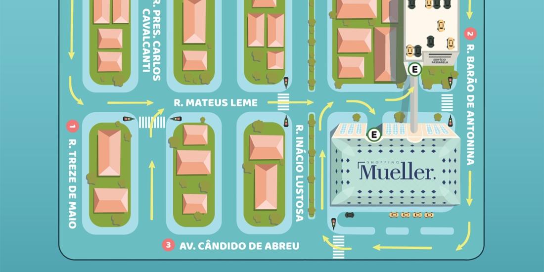 55c73576b1 ENTRADA DE ESTACIONAMENTO DO SHOPPING MUELLER SERÁ ALTERADA, by Vanessa  Malucelli – Divirta-se! Curitiba