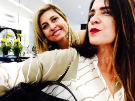 Vanessa Malucelli em look Isabel Cristina