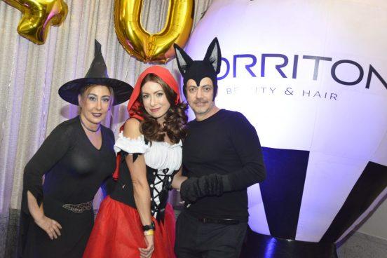 Maria Lucia Vialle, Norane Calliari e Alessandro Ielo - TORRITON 40 Anos