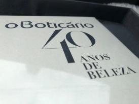 O Boticário 40anos