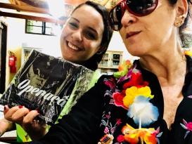Bela Mata recebe Vanessa Malucelli, esta turista