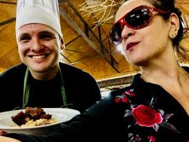 Reinhard Pfeiffer, o Chef da Bela Mata oferece seus quitutes