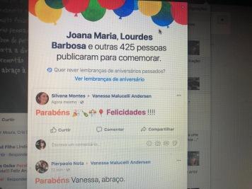 Vanessa Malucelli - o dia do meu aniversário