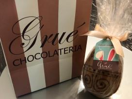 Páscoa é na Grué Chocolateria