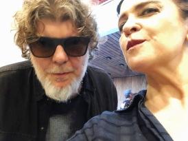 Vanessa Malucelli com Branco Mello — TITÃS
