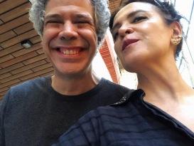 Vanessa Malucelli com Mario Fabre (bateria)— TITÃS