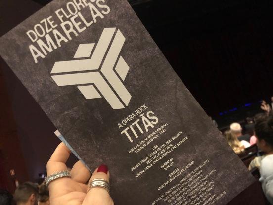 'Libretto' — TITÃS, Doze Flores Amarelas, Festival de Curitiba 2018