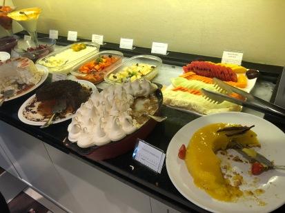 Buffet de sobremesas - Feijoada do Bourbon Curitiba