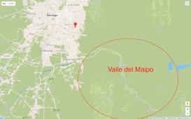 Viña Cousiño Macul mapa 2