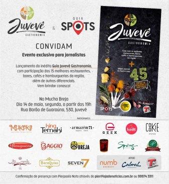 Convite Guia Juveve Gastronomia