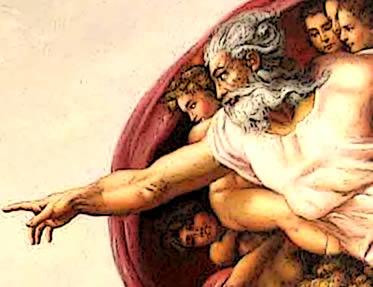 Deus de Michelangelo - HISTORIA DO MUNDO