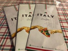 Italy Caffé - Criação Divina, a Pizza