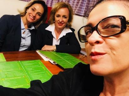Vanessa Malucelli, Patrícia(Pró-Eventos) e Glaucia Valente - Italy Caffé