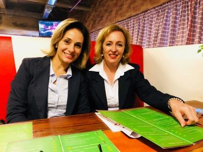 Italy Caffé - Patricia(Pró Eventos) e Glaucia Valente