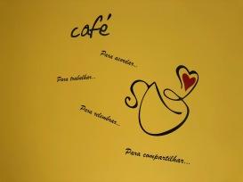 LAVORINO Coworking — Cozinha, lembretes dos benefícios do Café