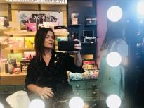 "Vanessa Malucelli, ""diva"" MakeB por Sadi Consati"