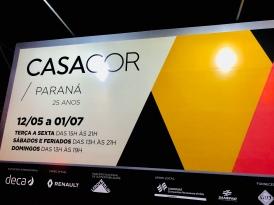 CASACOR PARANÁ 2018, 25ª edição - evento de pré-inauguração