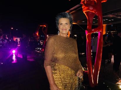 Marina Nessi, a sempre linda comandante da CasaCor Paraná