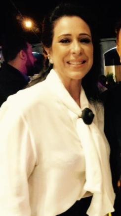 Débora Dias, patronesse do evento