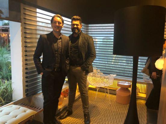 Alessandro Cavalcanti e Ricardo Makhoul — CasaCor Paraná 2018