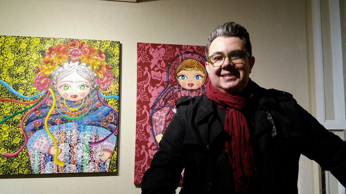 Exposição Matrioshkas, de Eloir Jr. no Espaço Cultural IPO