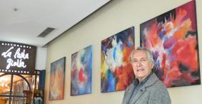 Artista Luiz Felix e suas obras