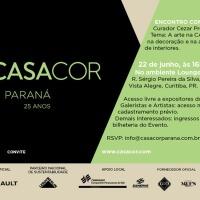"""CASACOR PR promove bate-papo """"Encontro com a Arte"""" com o marchand Cezar Prestes"""