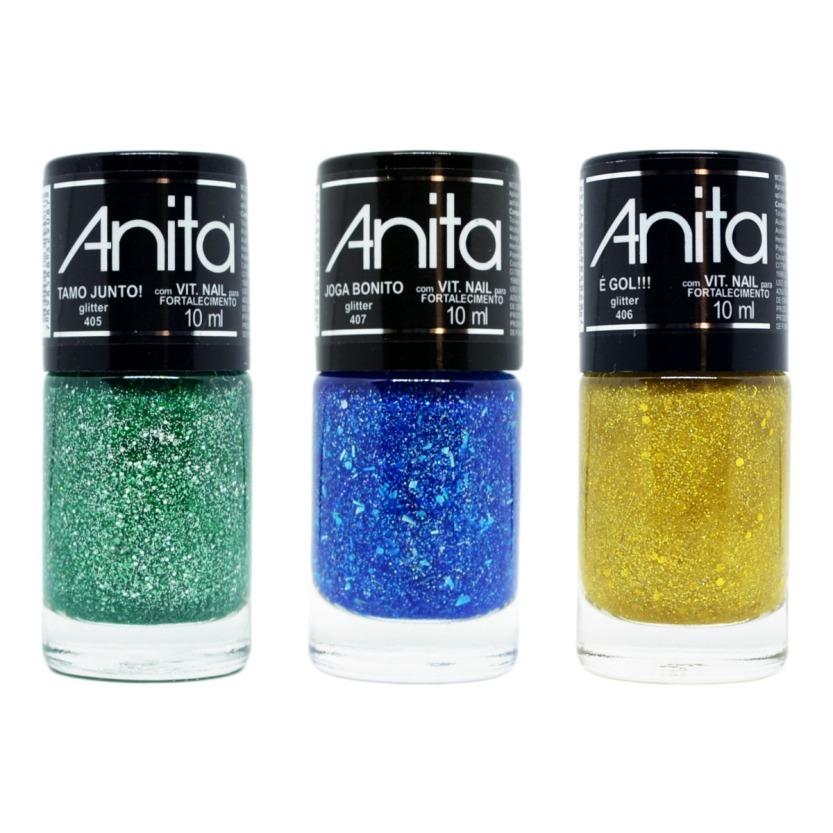 Esmalte Anita Tamo Junto Glitter_Drogaria Iguatemi