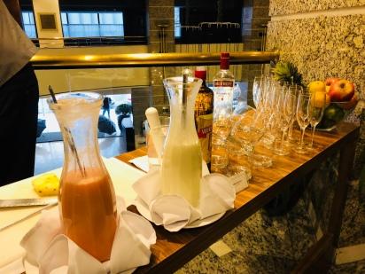 Feijoada Rayon — Bancada 'abrir o apetite'