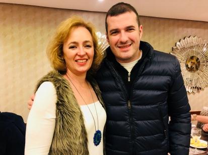 Glaucia Valente, e Douglas Borcath Filho — Feijoada Rayon