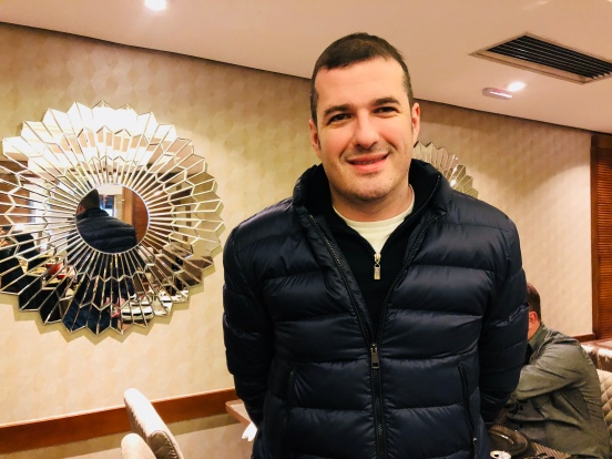 Grand Hotel Rayon — Douglas Borcath Filho, sócio proprietário