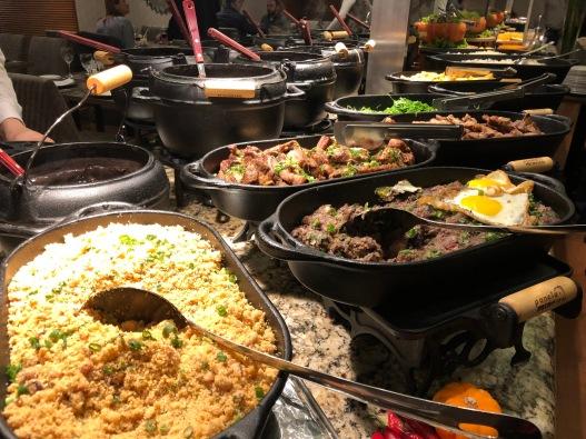 Feijoada Rayon — O buffet fantástico