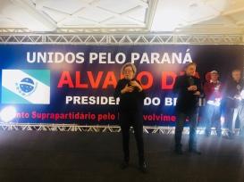 Fernanda Bruni, tradução simultânea na linguagem de sinais — Álvaro Dias p/ Presidente 2018