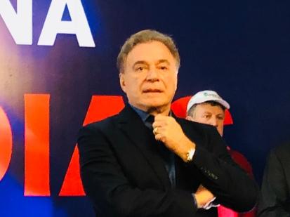 Álvaro Dias lança candidatura À Presidência 2018