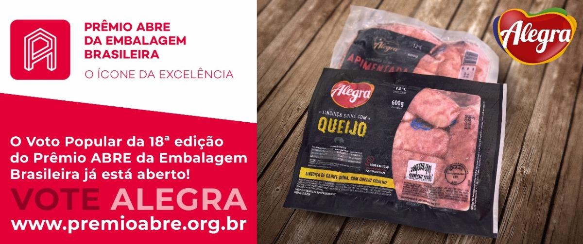 Alegra Foods Embalagens inovadoras da Alegra concorrem ao Prêmio ABRE