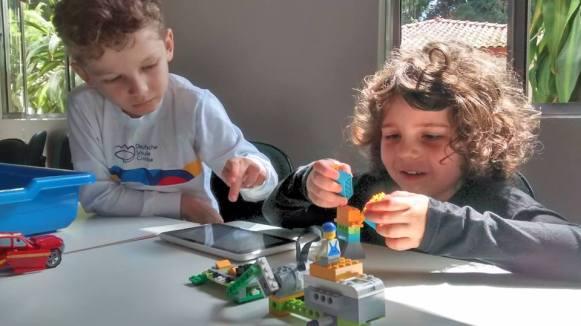 Semana Kids Mercadoteca - oficina lego