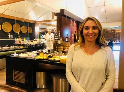 Kely Souza proprietária da KF a La Carte - Qualidade para o seu Evento
