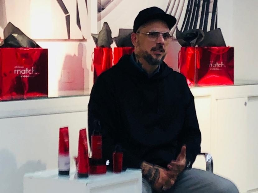 Beauty artist Ricardo dos Anjos