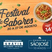 Festival de Sabores reúne o melhor da gastronomia no Shopping São José