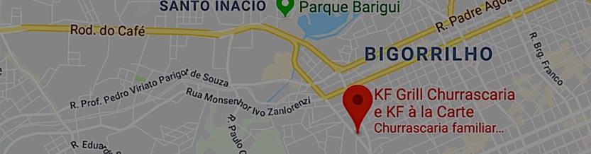KF a La Carte - mapa