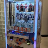 Máquina de prêmios é a nova brincadeira no Shopping Curitiba