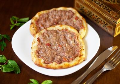 Baba_Esfiha aberta de carne