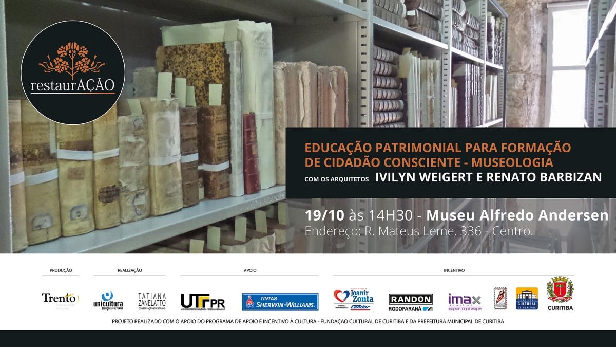 Oficina Educação Patrimonial para Formação de Cidadão Consciente no Museu Alfredo Andersen