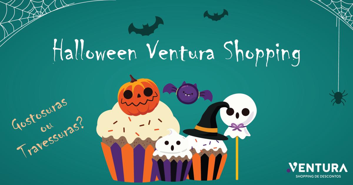 Oficina de cupcake com caça aos doces no Ventura Shopping