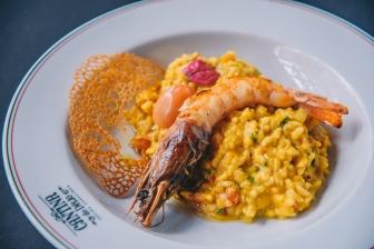 Risotto_alla_Zucca_i_Gamberi_GastroNight_+55_Bar_Cantina_do_Délio