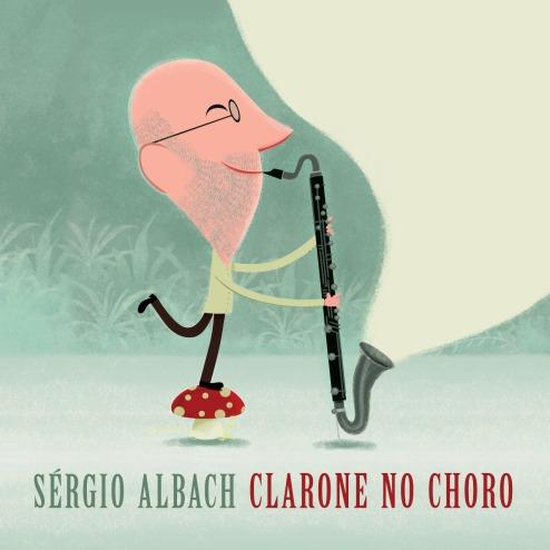 capa CD Clarone no Choro