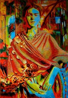 Retrato_Metafísico_de_Frida_Kahlo._acrílica_sobre_tela,_90x130cm.
