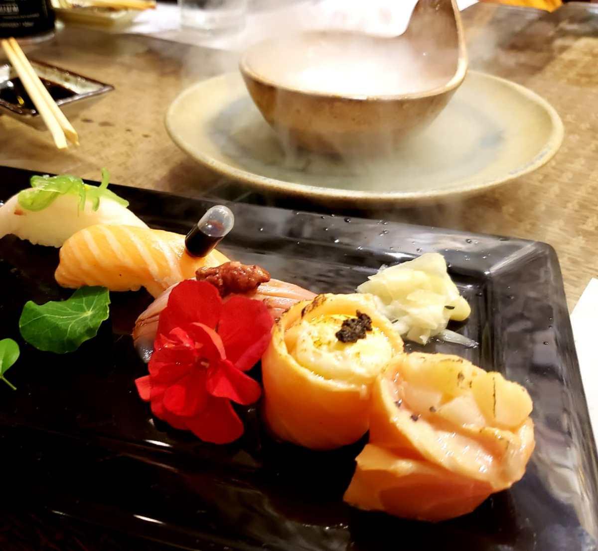 Omakase, toda terça no Tatibana, uma experiência gastronômica
