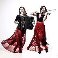 Vale da Música, na Ópera de Arame, recebe duo formado por violinista e acordeonista